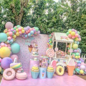 Anniversaire Donut candy
