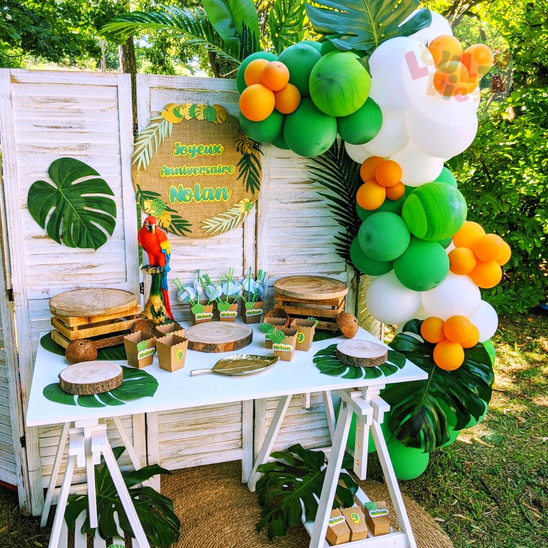 décoration de table ballons anniversaire